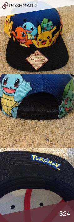 Brand new Pokemon hat (NWOT) Perfect condition, worn to try on. Comes from a smoke free home. Hot Topic Accessories Hats