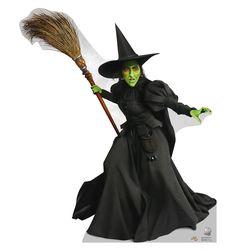 Wicked Witch West Wizard of Oz Lifesize Cardboard Standup Decoration Standee
