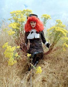 Harpers Bazaar | Photographer Tim Walker | Tim Burton's Magical Fashion.