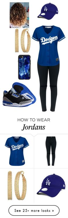 """Baseball"" by jazzy-graham on Polyvore featuring New Era, NIKE, Casetify and GUESS"