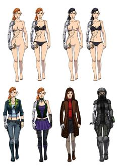 Spitfire - Outfits (Shadowrun - Commission) by Seattle2064 on DeviantArt