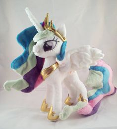 SALE My Little Pony Princess Celestia Pattern by dolphinwing, $13.50