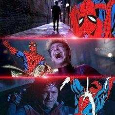 Homem-Aranha Marvel Fan, Marvel Dc Comics, Marvel Heroes, Marvel Characters, Marvel Avengers, Spiderman Spider, Amazing Spiderman, Marvel Jokes, Marvel Wallpaper