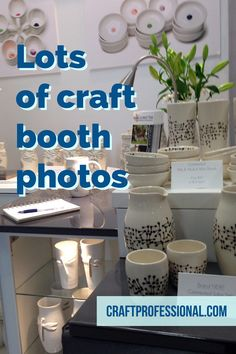 Click through for lots of craft display pictures http://www.craftprofessional.com/display-booth.html