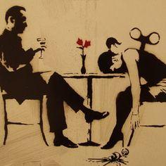 Blur - Out Of Time Vinyl - Artwork by Banksy - Never Played - Near Mint/Mint Banksy Graffiti, Street Art Banksy, Banksy Girl, Arte Banksy, Banksy Artwork, Bansky, Star Wars Logos, Tattoo Photo, Street Art