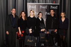 Les lauréats du Prix PIAGET Jeunes Talents, Fanny Agnier (1er prix), Juan Sebastian Galan Bello et Clémentine Despocp © HEAD – Genève / Sandra Pointet