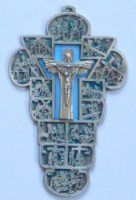 Stations of the Cross Wall Plaque Crucifixion Of Jesus, Our Lady Of Lourdes, Christian Religions, Maltese Cross, Wall Crosses, Wall Plaques, Symbols, Stone, Jesus Crucifixion