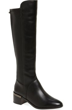 COACH 'Ryder' Knee High Boot (Women). #coach #shoes #boots