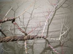 Exquisite Installations Unwind Strands of Ropes into Delicate Trees - My Modern Met