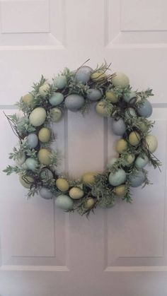 Check out this item in my Etsy shop https://www.etsy.com/listing/502556756/easter-wreath-door-wreath-holiday-wreath