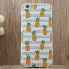 Cute Pineapple Case Cover for Apple iPhone 5s 5 SE 6 6S 6 Plus 6S Plus +Nice Gift Box DC080701