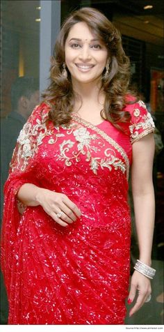 Madhuri Dixit in Gloriuos Saree
