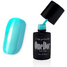 OneDor One Step Gel Polish UV Led Cured Required Soak Off Nail Polish... ($8.99) ❤ liked on Polyvore featuring beauty products, nail care, nail polish, gel nail color, gel nail care, glossy nail polish and gel nail polish