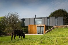 Patrick Bradley Architects - Ireland's First Modern Shipping Container Construction