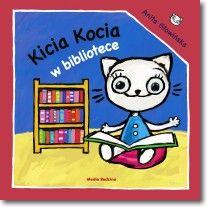 Kicia Kocia w bibliotece Books, Fictional Characters, Literatura, Author, Libros, Book, Fantasy Characters, Book Illustrations, Libri