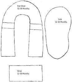 Molde para bebês de 12 a 18 meses (Foto: taoofcraft.typepad.com)