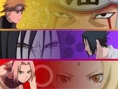 Team 7 mentors naruto Sakura sasuke