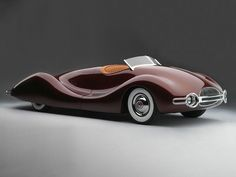 The Figoni Falaschi Talbot is certainly one of the great swoopy cars of all time
