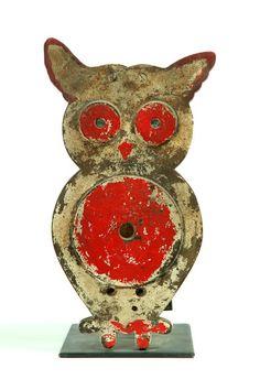 Vintage Owl Carnival Target Pinned by www.myowlbarn.com