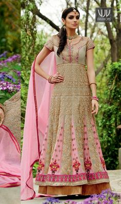 Buy Now @ http://goo.gl/t8fsfy  Deserving Pink Resham Work Georgette Anarkali Suit  Be the sunshine of everyone's eyes dressed in this gorgeous pink georgette anarkali suit. The embroidered and resham work looks chic and great for any affair.  Product No  VJV-KIMO3104  @ www.vjvfashions.com  #designersalwar #bollywoodfashion #celebrity #fashions #fashion #indianwedding #wedding #salwarsuit #salwarkameez #indian #ethnics #clothes #clothing #india #bride #beautiful #shopping #onlineshop