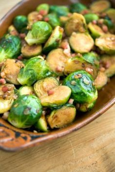 You either love or hate these mini cabbage-like veggies. We love them! This holiday Brussels sprouts recipe is super easy to make.
