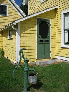 Yellow Farmhouse.