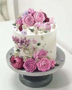 Flower cake: método coreano se espalha e vira tendência no Brasil