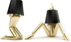 Super funky desk lamps!