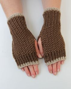 Hand Made Fingerless Gloves