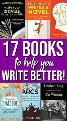Check out our list of best books on writing for creative fiction authors! These books contain tons of useful writing tips to improve your authorial skills. Are you ready to write your bestselling novel? #booksonwriting #writingtips Must Read Novels, Best Books To Read, Good Books, Book Writing Tips, Writing Skills, True Crime, Science Books, Fiction Writing, Inspirational Books