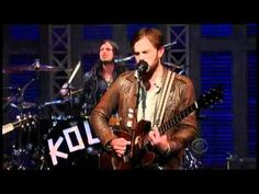 "▶ Kings of Leon - ""Radioactive"" 10/25 Letterman (TheAudioPerv.com) - YouTube"