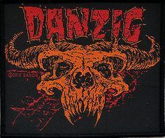 Danzig Woven Band Patch £3.75