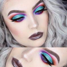 Amarás los colores de #Sugarpill #PoisonPlum #Magical #Eyes