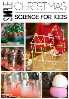 Looking for simple Christmas science activities to try with the kids? These activities are great for all ages from kindergarten to upper elementary.