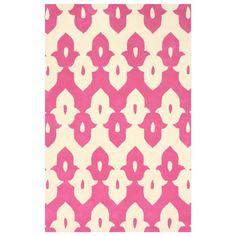 Palazzo Pink Hand Tufted Wool Rug