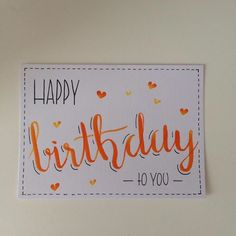 Geburtstag, Geburtstag, Hurra, Party - My list of best Diy and Crafts Birthday Cheers, Happy Birthday Cards, Diy Stationery Storage, Ideas Scrapbook, Cumpleaños Diy, Birthday Doodle, Karten Diy, Bday Cards, Doodle Lettering