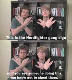 #Vlogbrothers #HankGreen #JohnGreen Nerdfighters UNITE!