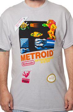 Cartridge Metroid T-Shirt