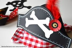 piratenhoed voor een piratenfeest  #download #piraten #piraten
