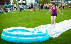 joel mayward: Slip-n-Slide Kickball or Kiddie Pool Kickball