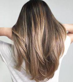 Ash Brown And Blonde Balayage Hair