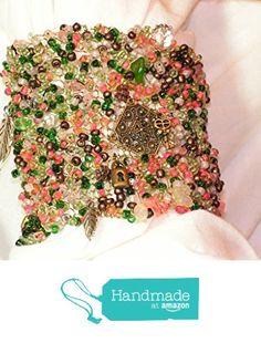 "Hand Knitted Wire Cuff Bracelet - My Secret Garden from ""...Of Brush and Needle"" http://www.amazon.com/dp/B0167Z4YWG/ref=hnd_sw_r_pi_dp_w.ozwb0HCJEBJ #handmadeatamazon"