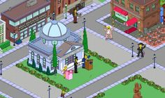 The Simpsons Tapped Out ~ My Springfield Party