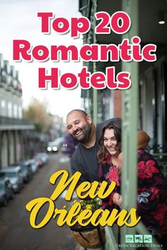 Want to plan the best romantic getaway to New Orleans possible? You're sure to have a great time, given all the fun things to do in New Orleans. It's also a charming city full of Southern beauty! For your anniversary trip, Valentine's Day vacation, honeymoon, destination wedding or couples weekend, take a look at the 20 most romantic hotels in New Orleans, Louisiana. And find out how you can get the best rates to save money on your stay. #NewOrleans #Travel #RomanticTravel #RomanticGetaways Best Romantic Getaways, Romantic Vacations, Romantic Travel, New Orleans Hotels, New Orleans Travel, Lafayette Hotel, Vacation Deals, Most Romantic, Hotel Deals