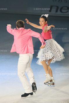 (L to R)  Jeffrey Buttle,  Mao Asada (JPN),  JULY 27, 2013 - Figure Skating :  LOTTE presents THE ICE 2013  at Osaka Municipal Central Gymnasium, Osaka, Japan.  (Photo by YUTAKA/AFLO SPORT) [1040]