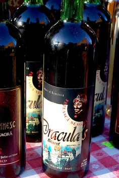 """""""Dracula's Blood Wine"""" sold at the foot of Bran Castle by Curious Expeditions, via Flickr"""