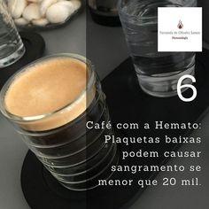 Café com a Hemato: dez dicas práticas. Dica 6: Plaquetopenia é uma diminuição das plaquetas abaixo do limite definido pelo laboratório (150mil). Sempre recomendamos investigar para descobrir a causa e numa necessidade saber como aumentar o nível. Mas o risco de sangramento espontâneo ocorre somente abaixo de 20 mil. Quer saber mais? Deixe sua dúvida aqui! #fernandahemato #pti #plaquetopenia #cafecomahemato #sangue #medulaossea http://ift.tt/2fDJxgR