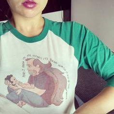 Guess who has a heartbreaking new shirt from Redbubble #redbubble #stevenuniverse #greguniverse #livielightyear
