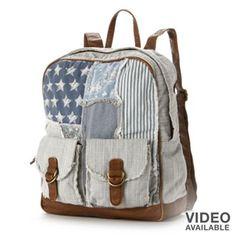 Mudd® Americana Patchwork Backpack #Kohls101