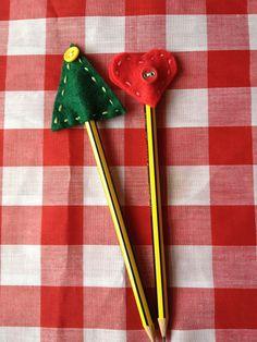 Christmas Felt Pencil Topper